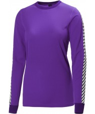 Helly Hansen Dames droge originele paars baselayer