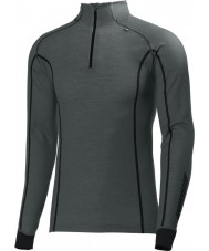 Helly Hansen 48852-899-XS Mens warm freeze rots grijs half zip baselayer - XS