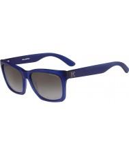 Karl Lagerfeld Mens kl871s matte blauwe zonnebril