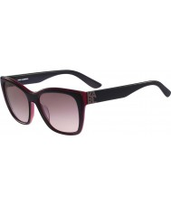 Karl Lagerfeld Ladies kl899s zwart rode zonnebril