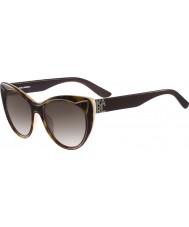 Karl Lagerfeld Ladies kl900s schildpad zonnebril