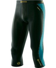 Skins DT00010202000S Mens dnamic thermische alpine driekwart legging - maat S